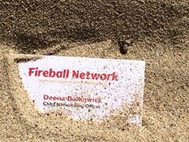 fireball network business card