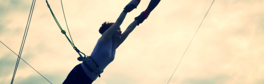 5 Lessons I Learned While Flying on a Trapeze